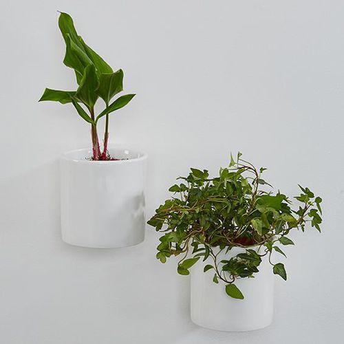 pot de fleur en porcelaine