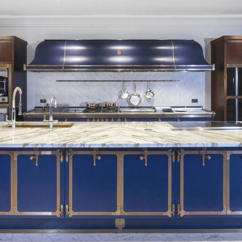 hotte de cuisine murale / avec éclairage intégré / professionnelle