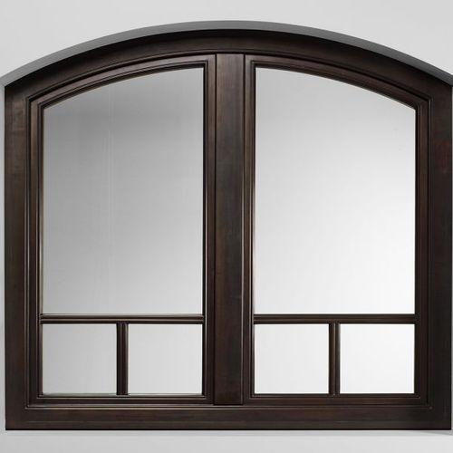 fenêtre battante / en bois / en métal / à triple vitrage