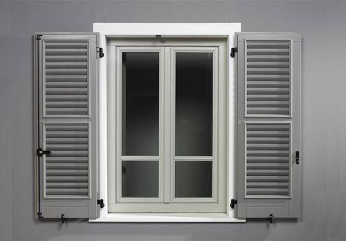 volet battant / en bois / pour fenêtre / de porte intérieure