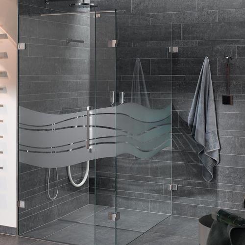 poignée de tirage pour porte de douche / en inox / contemporaine / résidentielle