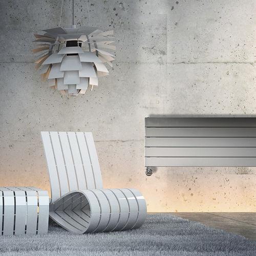 radiateur en acier / contemporain / à panneau rayonnant / horizontal