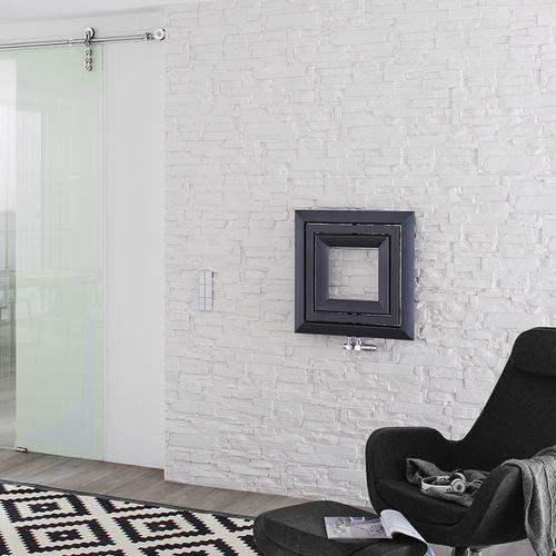 radiateur à eau chaude / en acier / design original / de salle de bain