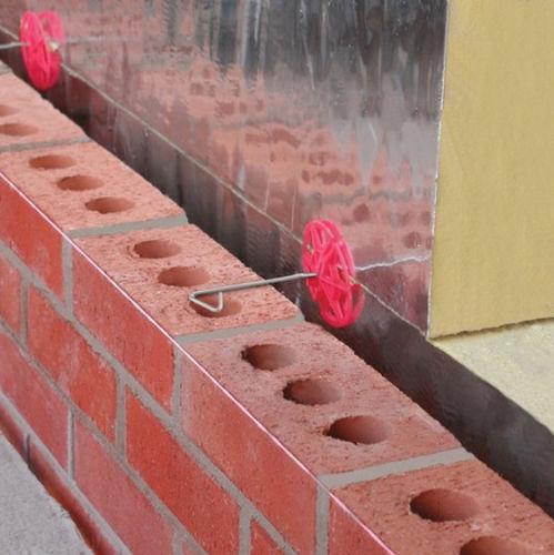 système de fixation en acier / pour bardage de façade / pour façade ventilée
