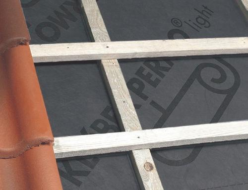 écran de sous-toiture en polypropylène