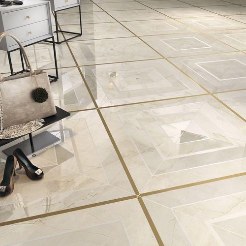 Carrelage D Interieur Bella Crema Dune De Sol En Ceramique 60x60 Cm