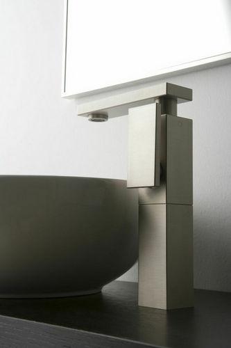 mitigeur pour vasque / en métal chromé / en nickel / mécanique