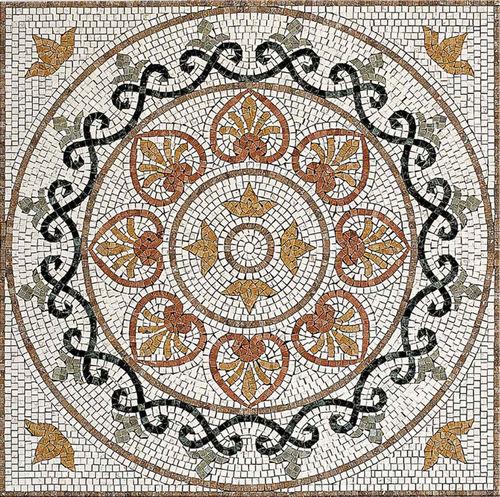 carrelage aspect mosaïque / d'intérieur / mural / de sol
