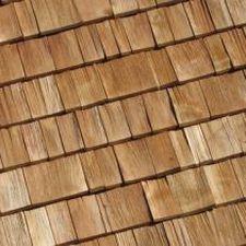 bardeau en bois / pour toiture / pour façade / mur
