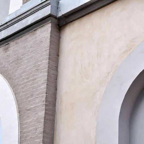 enduit de parement / de façade / à la chaux / hydraulique