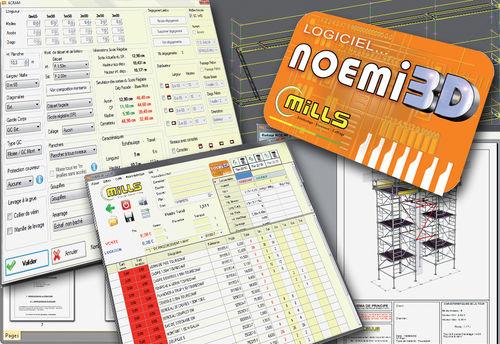 logiciel de conception / de planification coffrage / pour structure en acier / 3D