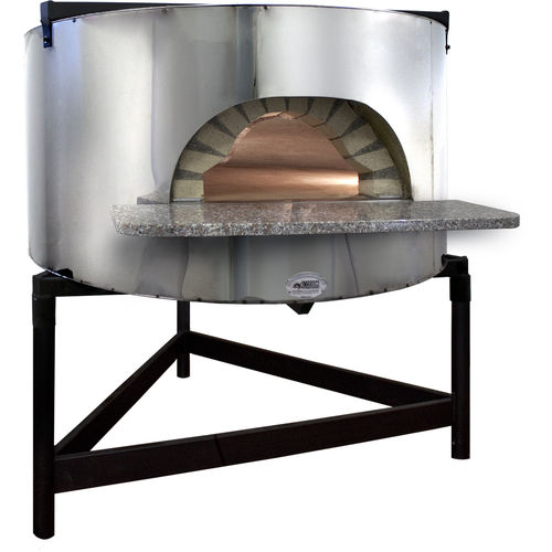 four à pizza professionnel / à gaz / à bois / pose libre
