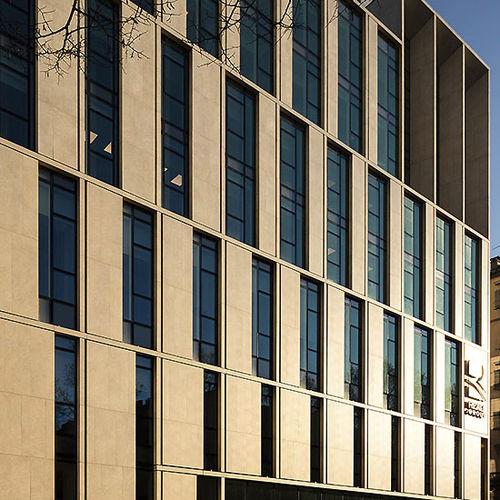 façade ventilée en pierre