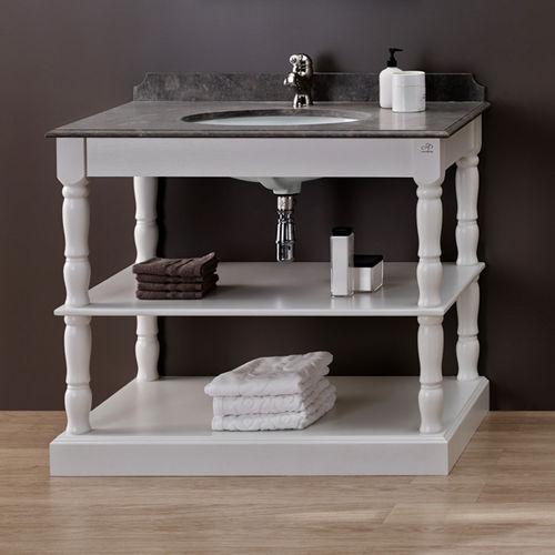 console pour lavabo en bois