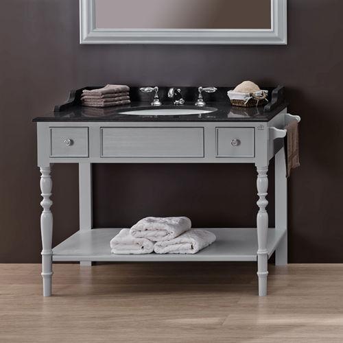 console pour lavabo en bois / en marbre / en quartz / en granite