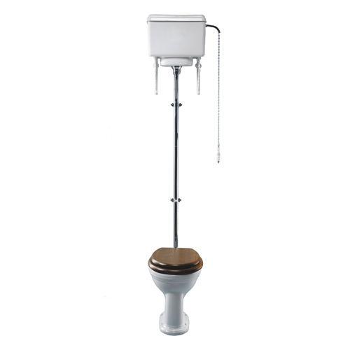 toilettes à poser / en porcelaine / avec chasse d'eau en hauteur