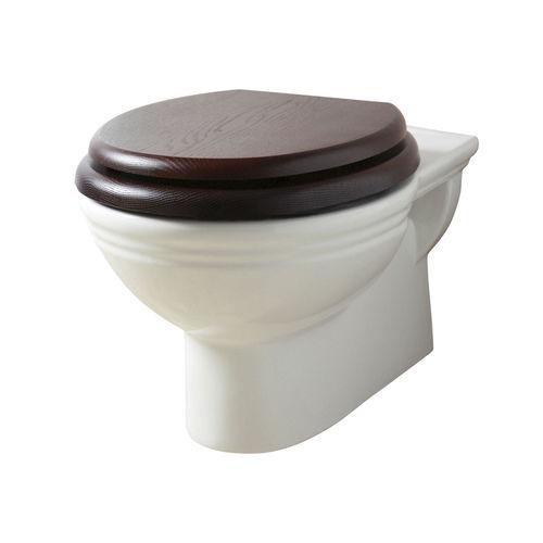toilettes suspendue / en porcelaine