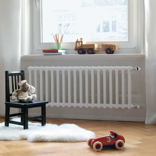 radiateur en métal / contemporain / courbé / à basse température
