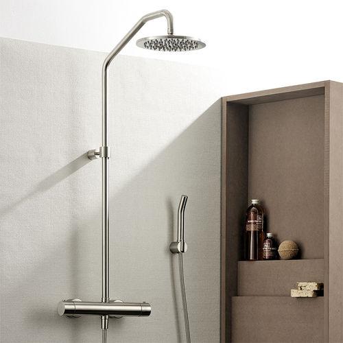 colonne de douche thermostatique / professionnelle / avec douche à main