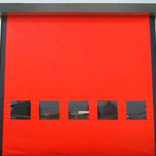 porte industrielle enroulable / en PVC / automatique / haute performance