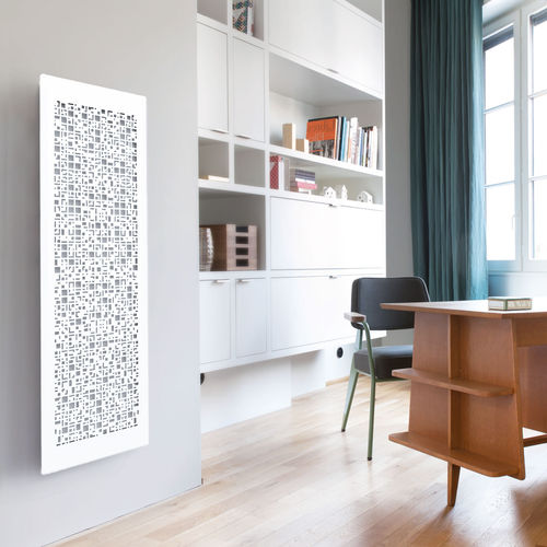 radiateur à inertie / en acier / contemporain / intelligent