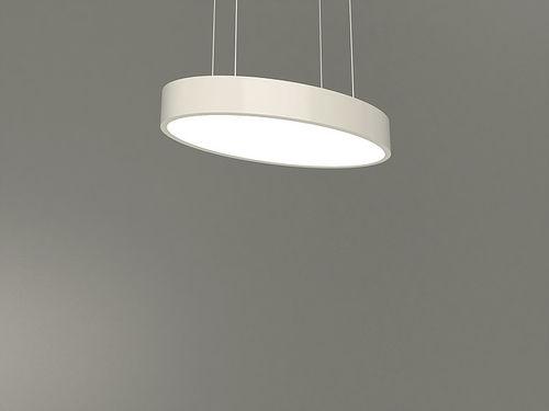 luminaire suspendu / à LED / en aluminium / en plastique