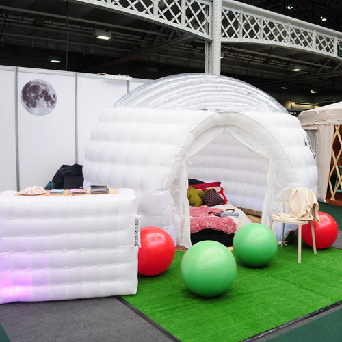 structure gonflable pour le secteur événementiel