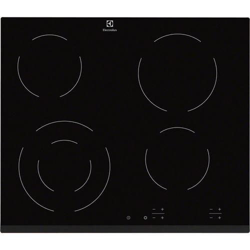 table de cuisson vitrocéramique / à induction / 4 foyers