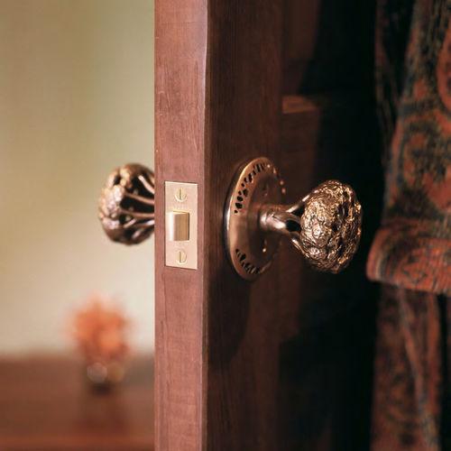 bouton de porte classique / en bronze
