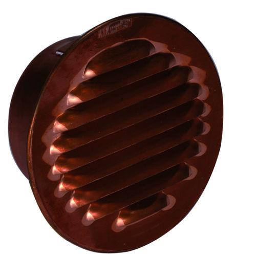 grille de ventilation en cuivre