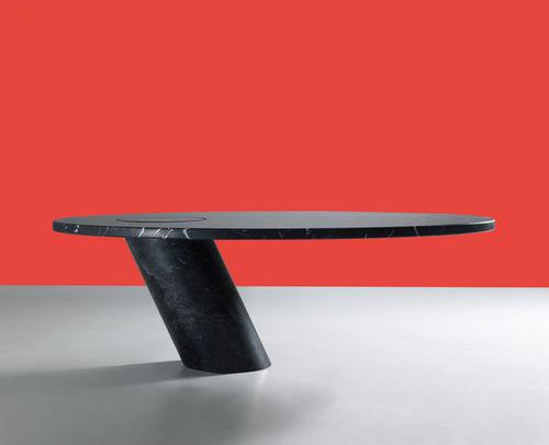 table basse design original / en marbre / ovale