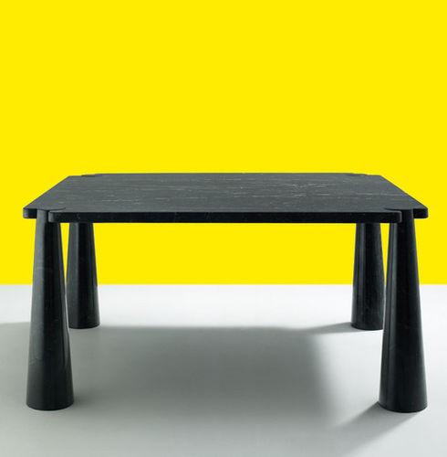 table basse contemporaine / en marbre / carrée