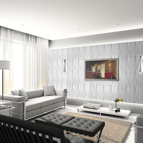 revêtement mural en pierre / résidentiel / 3D / pour intérieur