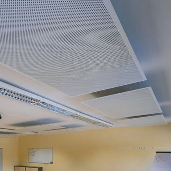panneau sandwich acoustique pour faux-plafond