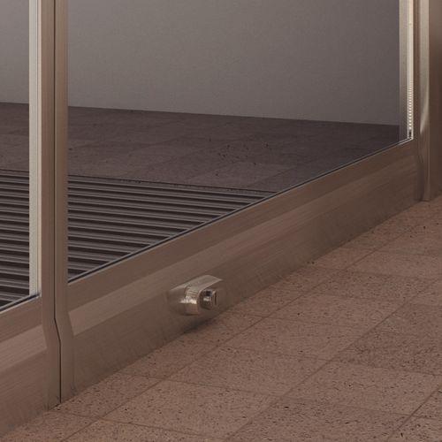 système de fixation en acier inox / pour panneaux / pour aménagement extérieur / pour bâtiment
