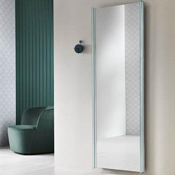 miroir mural / contemporain / rectangulaire / carré