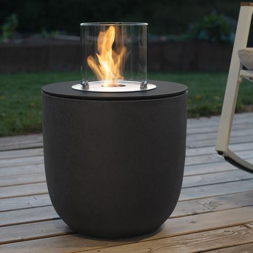 cheminée au bioéthanol - muenkel design