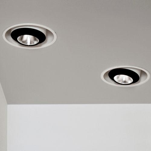 downlight encastrable au plafond / à LED / elliptique / professionnel