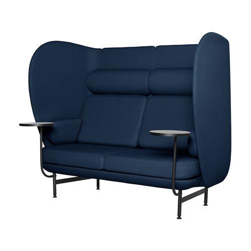 canapé contemporain / en tissu / en acier à revêtement par poudre / par Jaime Hayon