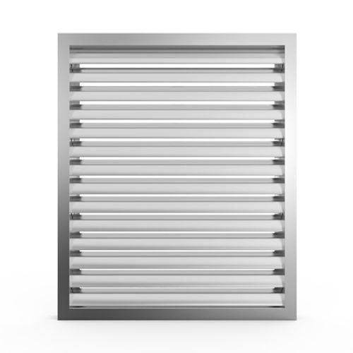 grille de ventilation en aluminium / rectangulaire / carrée / professionnelle