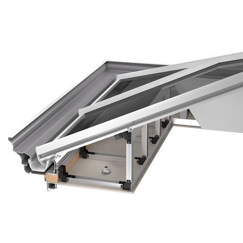 système de toiture en bois