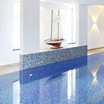 mosaïque de piscine / au sol / en grès cérame / carrée