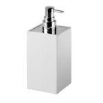 distributeur de savon pour hôtel / à poser / en céramique / manuel