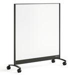 tableau magnétique / sur pied / en aluminium / mobile