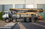 pompe à béton mobile / montée sur camion