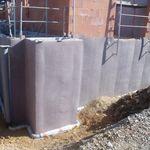 nappe drainante en polypropylène / de protection / d'étanchéité / pour murs enterrés