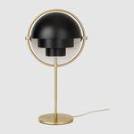 lampe de table / contemporaine / en métal / blanche