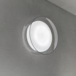 applique murale contemporaine / en verre soufflé / à LED / ronde