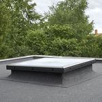 fenêtre de toit fixe / en PVC / à double vitrage / à isolation thermique