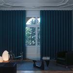 rail à rideaux avec actionnement manuel / pour rideau drapé / professionnel / à usage domestique